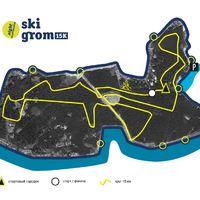 Ночная лыжная гонка SkiGrom Night 15k