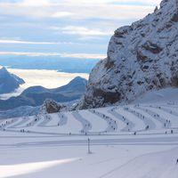 Лыжи, 2016, больше км.
