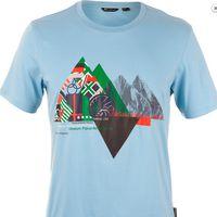 Футболка мужская Outventure Вулканы и Горы Мира KMT405Z046