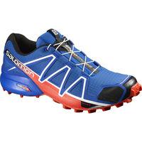 salomon speedcross 4 синие1