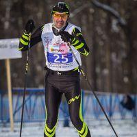 Лыжный марафон  51км Сокольи горы , город Самара